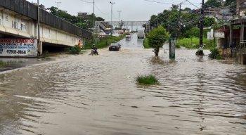 A Apac emitiu alerta de chuva para quatro regiões do Estado