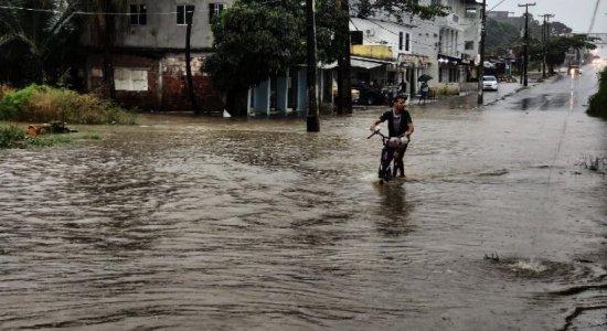 Chuva no Grande Recife: Confira onde tem ponto de alagamento na manhã desta quinta (13)