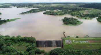 Barragem de Duas Unas, em Jaboatão dos Guararapes