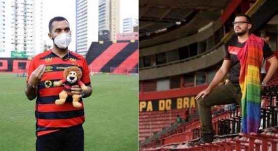 O jornalista Eduardo Sena publicou foto em protesto contra a homofobia sofrida por Gil do Vigor