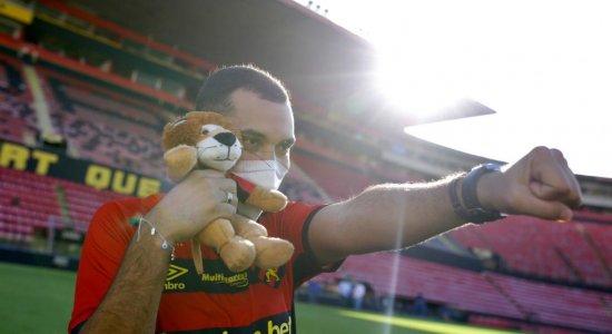 Gil do Vigor declarou amor ao Sport, antes de sofrer comentário homofóbico: ''Não temer nada''