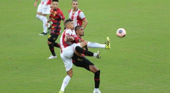 Em jogo movimentado, Sport e Náutico empatam na primeira decisão do Pernambucano