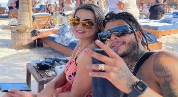 MC Kevin e a esposa, Deolane Bezerra