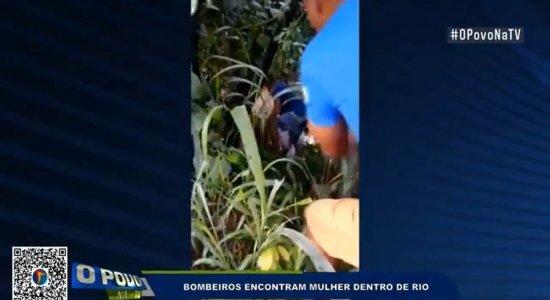 Mulher que havia sido jogada no Rio Jaboatão é resgatada por populares na Muribeca