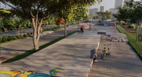 Fotos: Requalificação do Cais da Aurora, no Recife, prevê Skate Park capaz de sediar competições nacionais