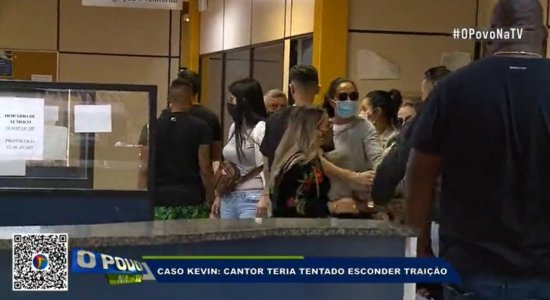 Vídeo mostra princípio de confusão entre Bianca Dominguez e viúva de MC Kevin em delegacia