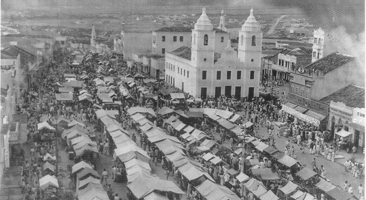 Feira de Caruaru, possivelmente década de 1940