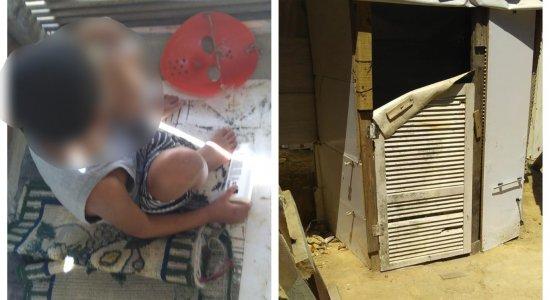 Polícia resgata criança vítima de maus-tratos