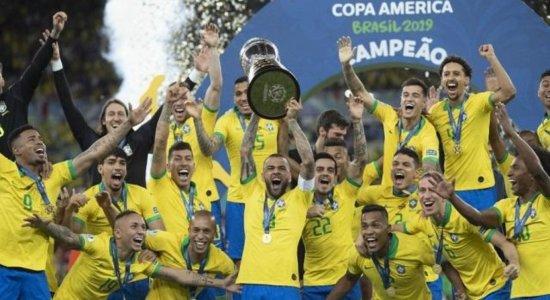 Seleção Brasileira venceu a Copa América em 2019