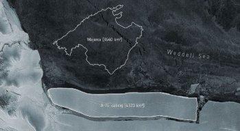 Maior icebarg do mundo