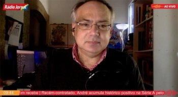 Antônio Martins, correspondente da Rádio Jornal em Portugal