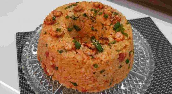 Receita deliciosa e fácil de Arroz de Camarão do chef Rivandro França