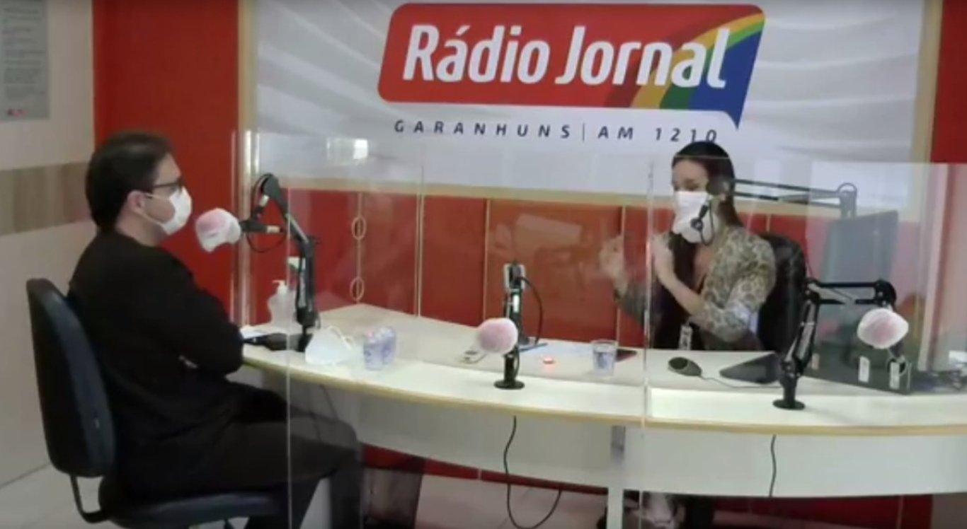 Entrevista na Rádio Jornal Garanhuns