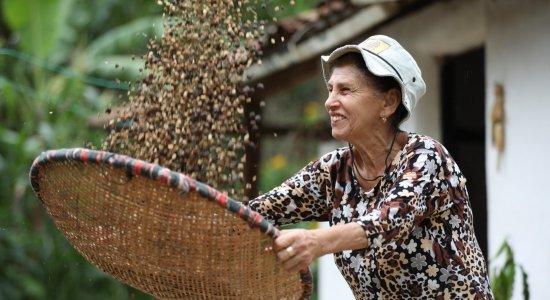 Agricultora orgânica e comerciante se fortalecem ao apostar no café em Taquaritinga do Norte