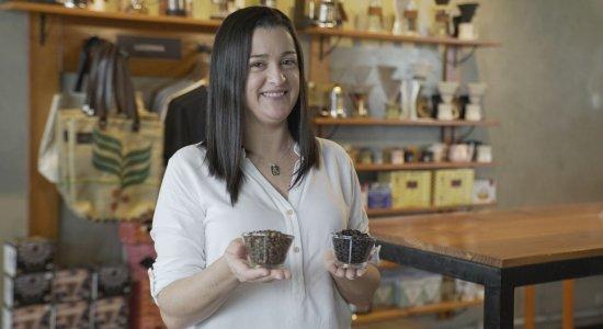 Casal muda de carreira para abrir café, que vira loja, escola e consultoria