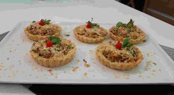 Receita de Tortinhas de Siri do chef Rivandro França
