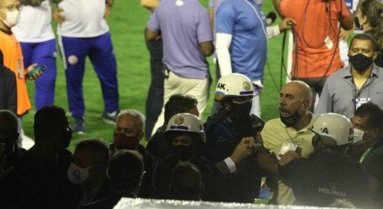 Fred Domingos chama súmula da final entre Náutico e Sport de mentirosa e diz que sofreu agressão