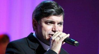 Frei Damião Silva em um de seus shows