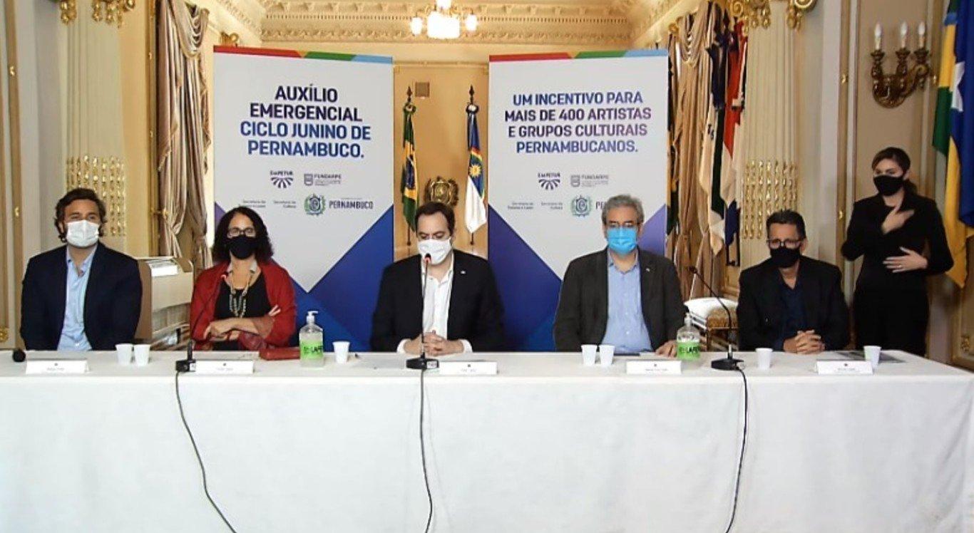Reprodução/Governo de Pernambuco/Youtube