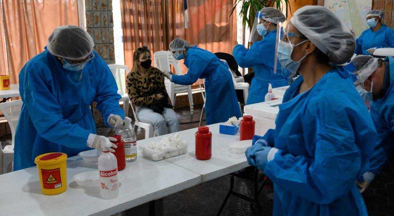 Vacinação contra Covid-19 em Paso de Carrasco, Uruguai