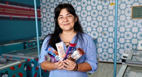 Com ideia criativa e parcerias, empresária inova no setor de sorvetes