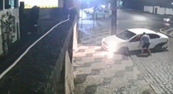 O motorista foi morto em Garanhuns