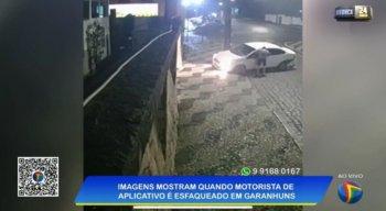 Vídeo mostra momento em que o crime aconteceu.
