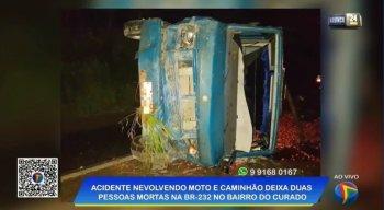 Condutores dos veículos não resistiram e morreram no acidente