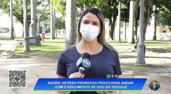 A repórter Juliana Oliveira explicou os novos prazos para que motoristas continuem circulando com o documento de 2020 do veículo.
