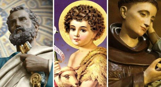 Antônio, João e Pedro; Entenda como surgiu a tradição de batizar filhos com os nomes de santos juninos