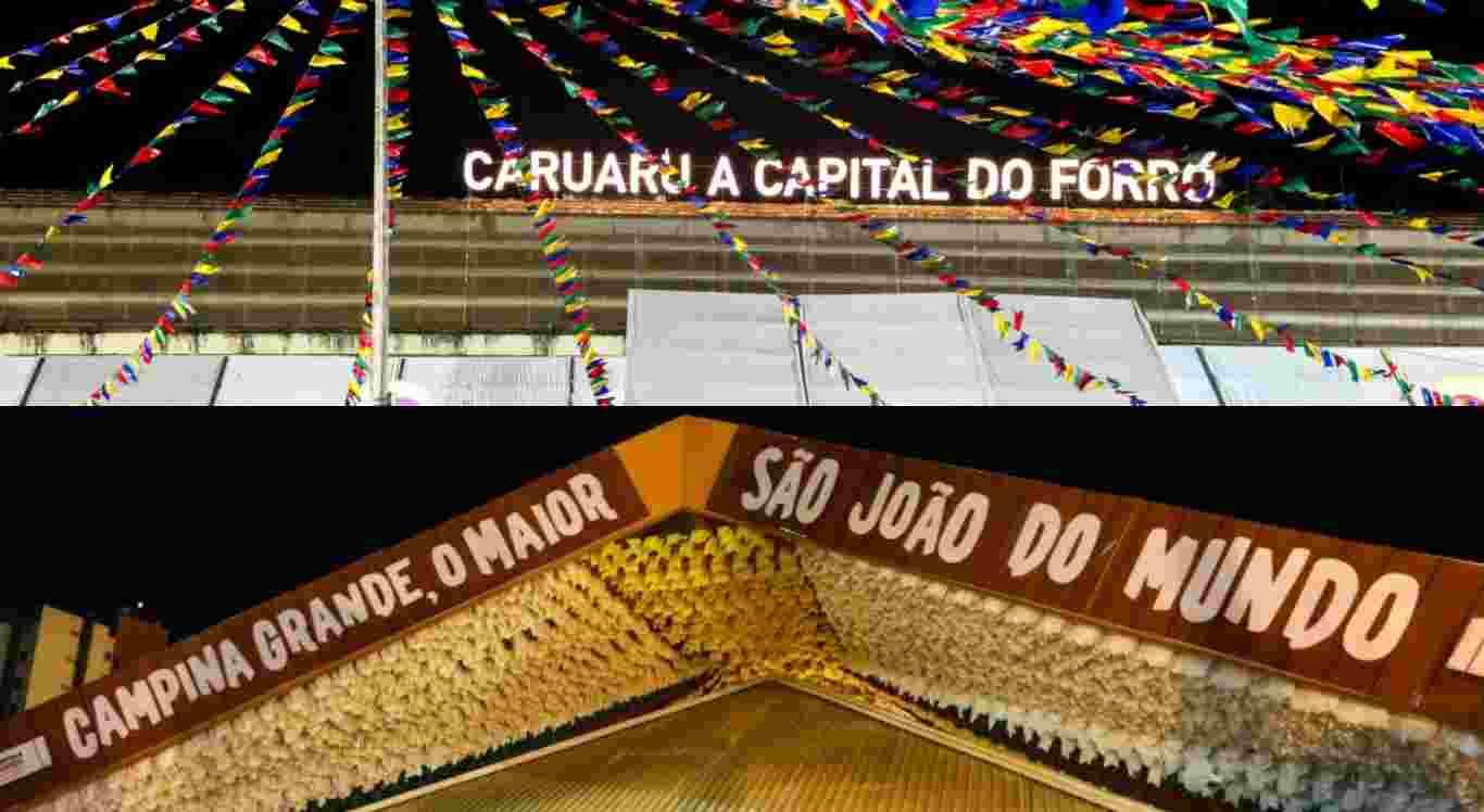 São João de Campina Grande e Caruaru