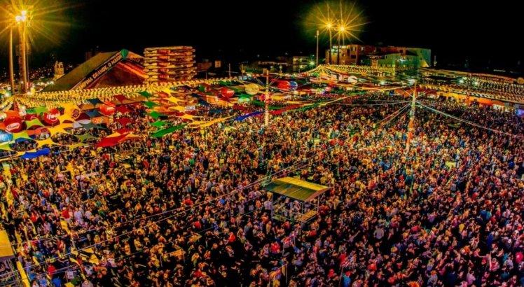 Parque do Povo é dividido em três partes e conta com a capacidade de 100 mil pessoas
