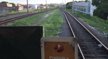O acidente aconteceu na Estação Prazeres do Metrô do Recife
