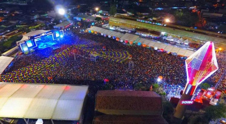 Pátio no São João de 2019