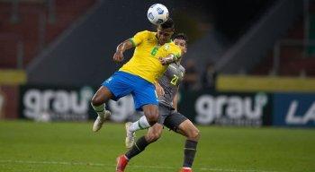 Os gols do Brasil foram marcados pelos atacantes Richarlison e Neymar