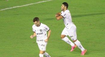 Hulk marcou o gol da vitória do Atlético-MG sobre o Sport
