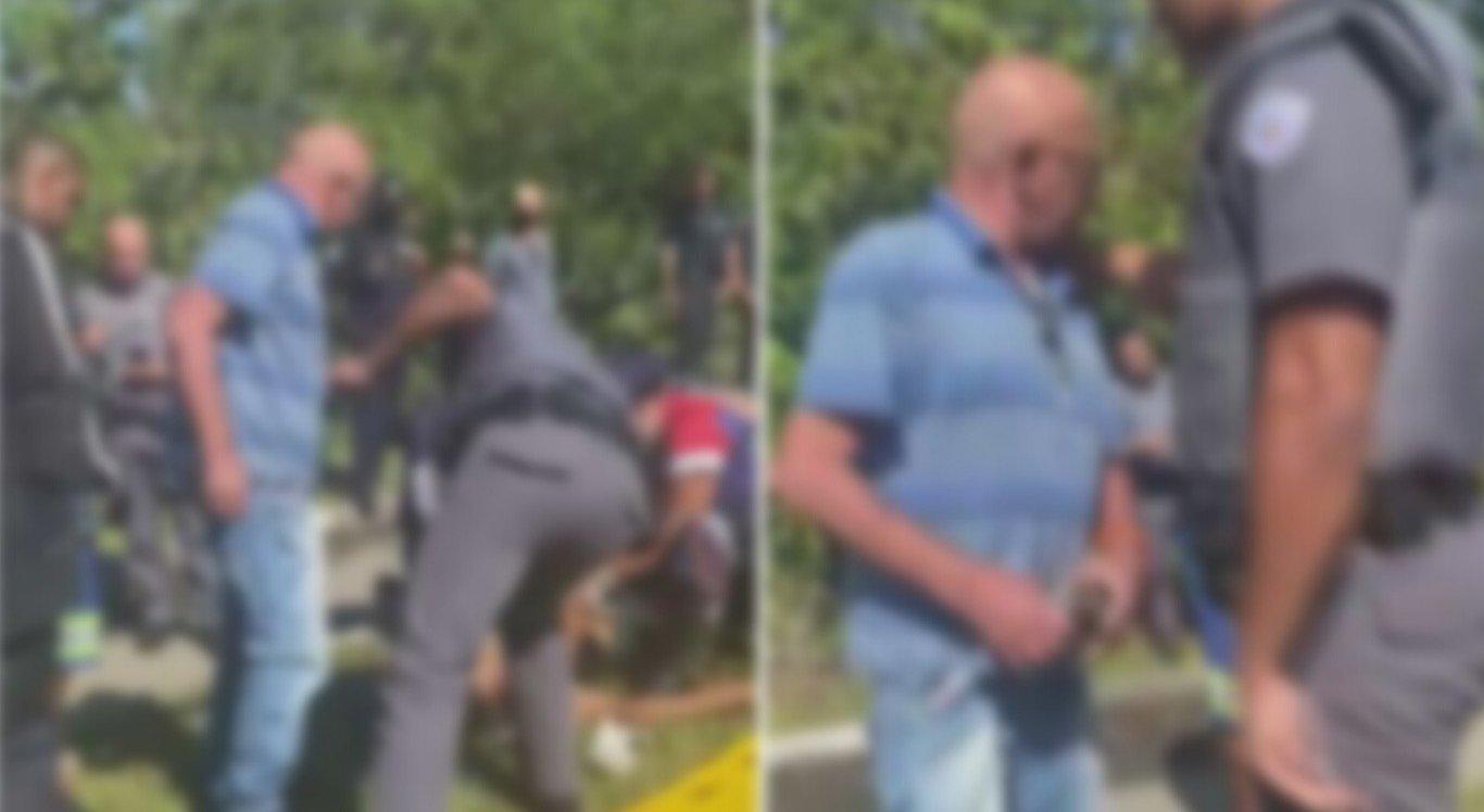 O pai se revoltou com o filho que foi baleado