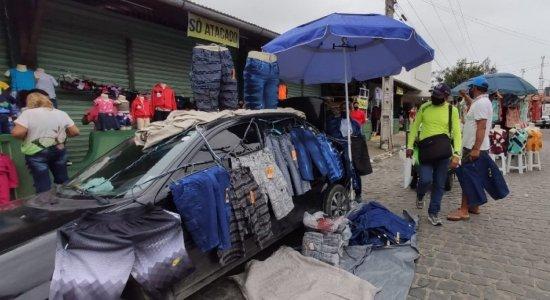 Na Feira de Caruaru, sulanqueiros burlam fiscalização e desrespeitam proibições
