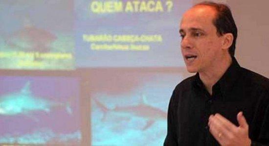 Morre de covid-19 professor especialista em ataques de tubarões em Pernambuco, Fábio Hazin