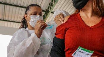 Vacinação contra a Covid-19 em Caruaru