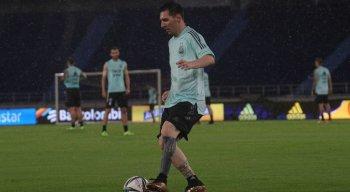 Messi é a principal esperança de gols da seleção da Argentina