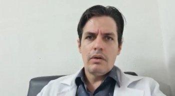 Dr. Felipe Prohaska gravou um vídeo para a TV Jornal e tirou dúvidas sobre a mucormicose.