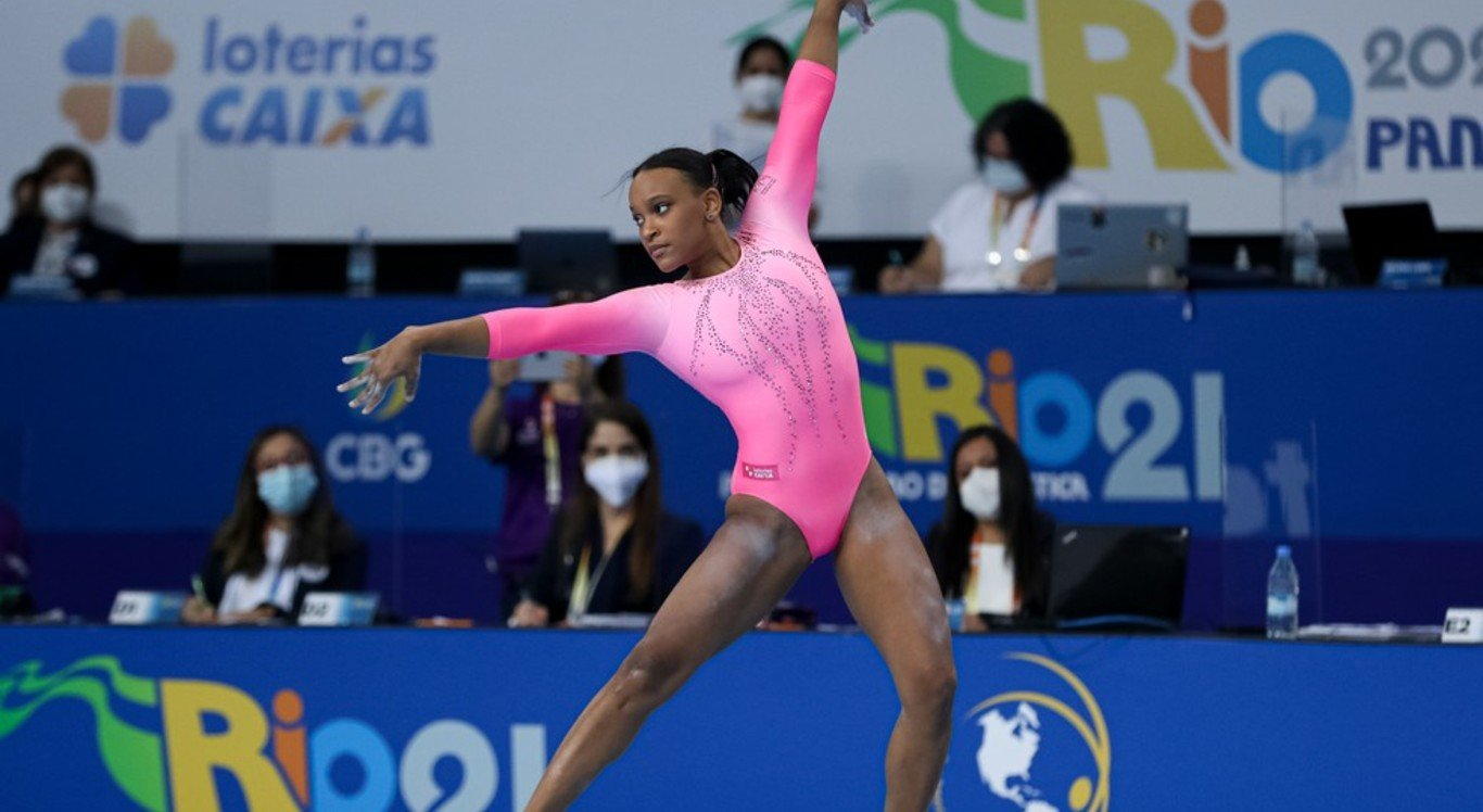 Rebeca Andrade foi classificada para as Olimpíadas de Tóquio