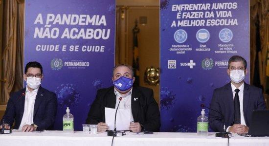 AO VIVO: acompanhe a coletiva do Governo de Pernambuco sobre a covid-19 nesta quinta (9)