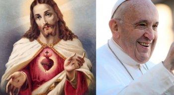 Papa Francisco ensina oração ao Sagrado Coração de Jesus