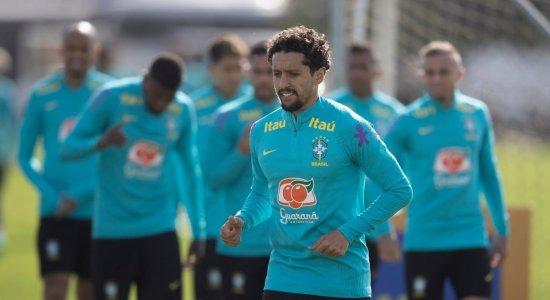 Atual campeão da Copa América, seleção brasileira realiza primeiro treino visando à estreia no domingo (13)