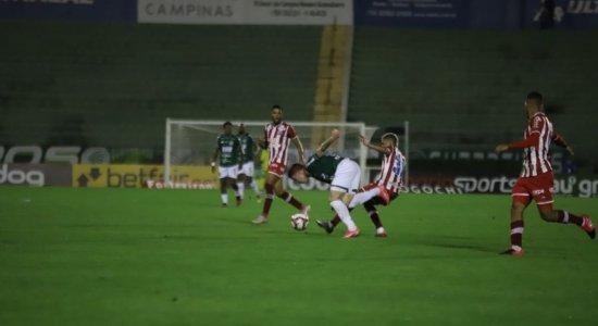 Ouça os gols da vitória do Náutico diante do Guarani na voz de Aroldo Costa