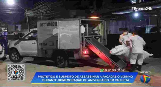 Homem é morto a facadas durante festa de aniversário em Pau Amarelo; vizinho é suspeito de cometer crime