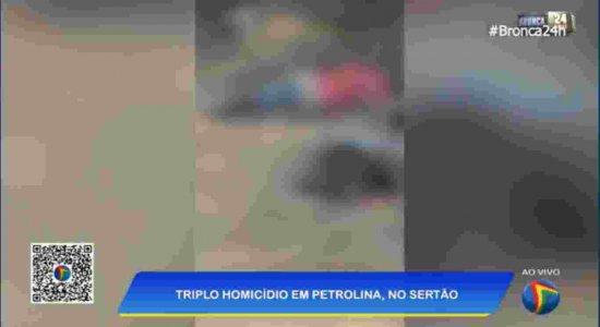 Três homens são encontrados mortos em Petrolina, no Sertão de Pernambuco