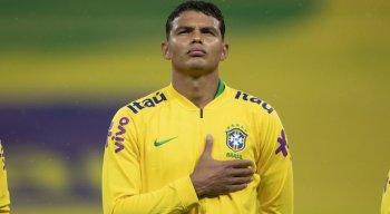 Thiago Silva é o jogador mais experiente da seleção brasileira